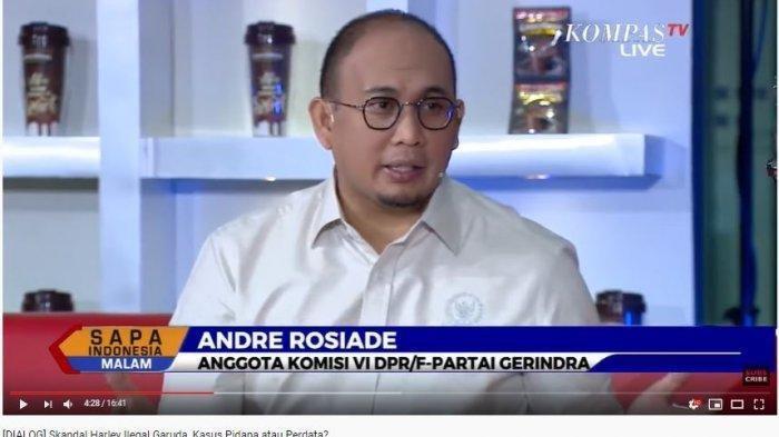 Politisi Gerindra Andre Rosiade Soal Dirut Garuda Dicopot Erick Thohir, Andre Rosiade: Tak Ada Ampun