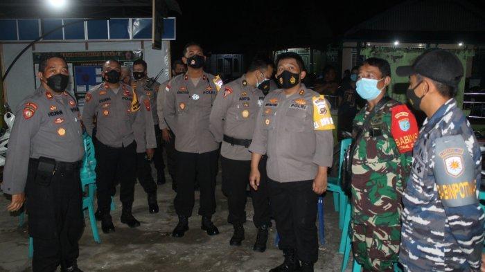 Kapolres Ketapang Pantau Langsung Pelaksanaan Pleno Perhitungan Suara Pilkades Sukabangun