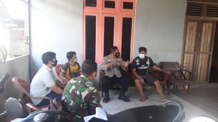 Kanit Binmas Polsek Simpang Hulu Imbau Warga Terkait Bahaya Karhutla dan Patuhi Protokol Kesehatan