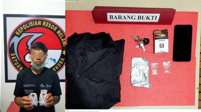 Tersandung Kasus Narkoba, Warga Ambalau Ditangkap Polisi