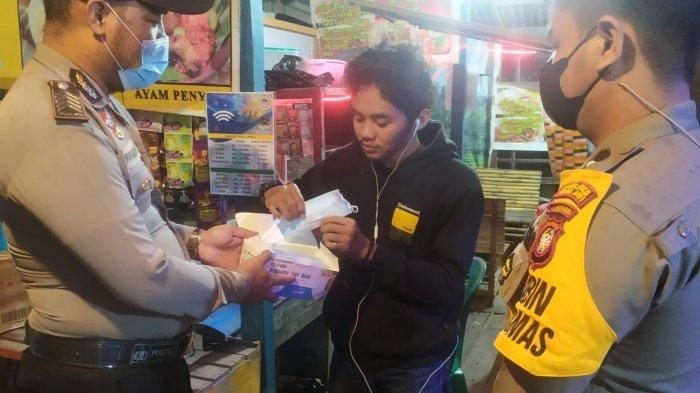 Polres Melawi dan Polsek Jajaran galakkan kegiatan KRYD (Kegiatan Rutin Yang Ditingkatkan) untuk menekan Covid-19, Senin 7 Juni 2021