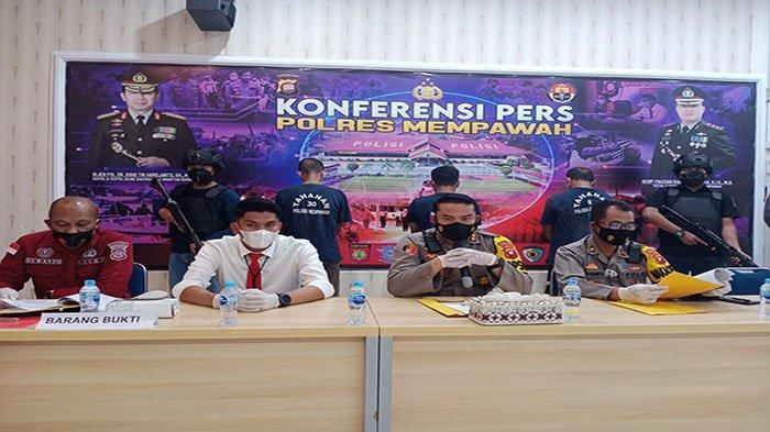 Polres Mempawah Tetapkan Tiga Tersangka Pelaku Karhutla di Kabupaten Mempawah