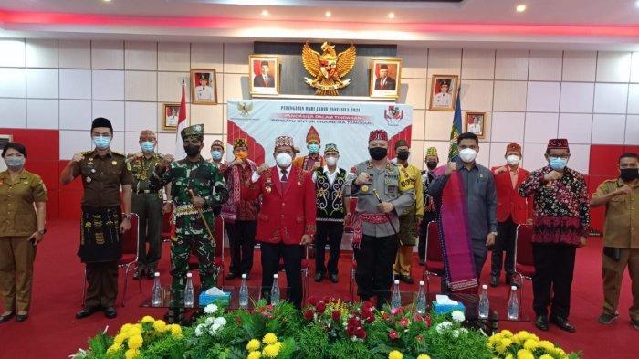 Kapolres Hadiri Upacara Peringatan Hari Lahir Pancasila Secara Virtual di Kantor Bupati Sanggau