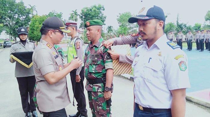 Polres Sekadau Laksanakan Apel Gelar Pasukan Operasi Lilin Kapuas 2019