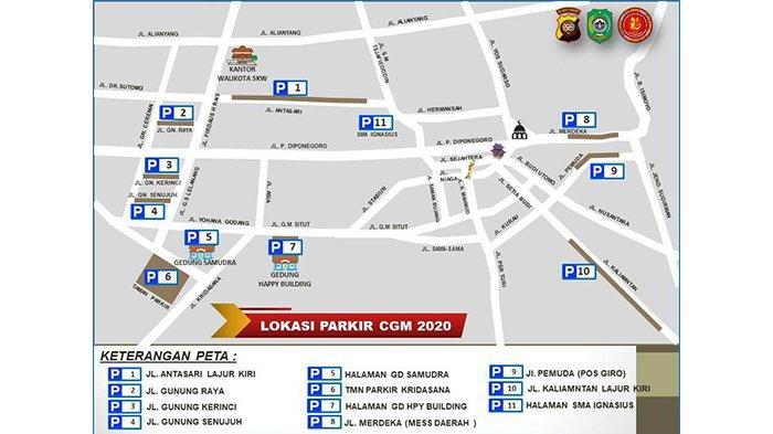 Berikut 11 Titik Parkir yang Disediakan Polres Singkawang saat Perayaan Cap Go Meh Singkawang 2020