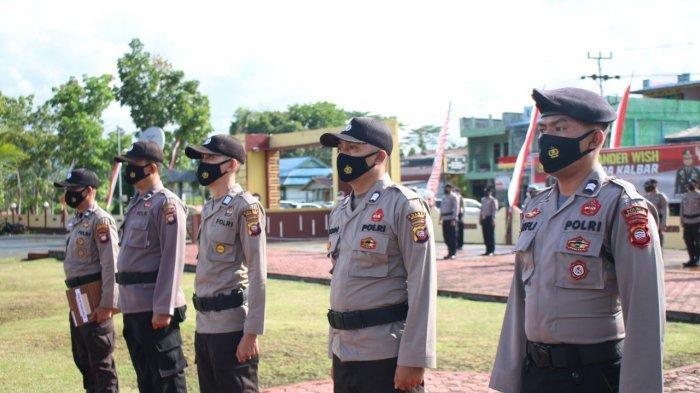 Sebanyak 44 Personel Polres Bengkayang Polda Kalbar mendapat kenaikan pangkat, Kamis 1 Juli 2021.