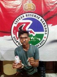 Tersangka narkoba diamankan Polres Kubu Raya