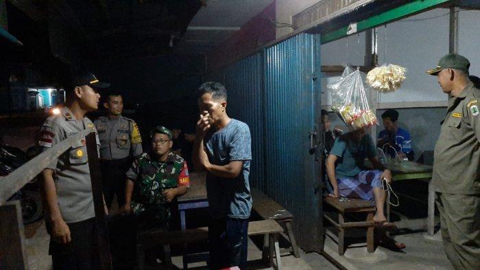 Tim Gabungan TNI, Polri, Puskesmas dan Pol PP Bunut Hulu Patroli Bersama Sosialisasi Cegah Covid-19