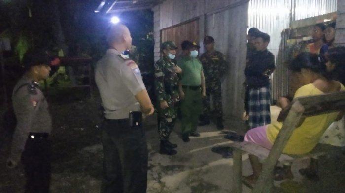 Polsek, Koramil dan Pemdes Belitang Lakukan Patroli Gabungan Cegah Penyebaran Covid-19