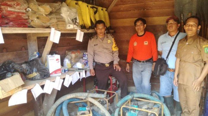 Polsek Lumar Gelar Koordinasi dengan PT PML Tanggulangi Bencana Karhutla