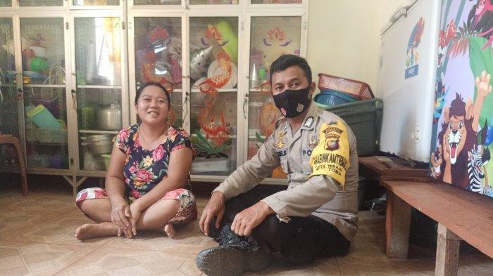 Bripka Kornelis Laksanakan Kegiatan DDS ke Rumah Warga Binaan