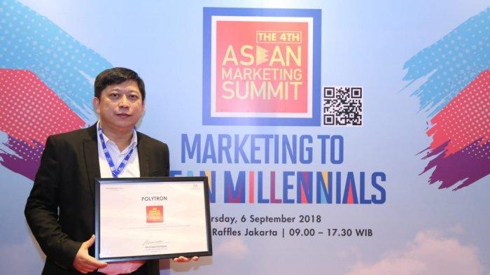 Polytron Dinobatkan Sebagai Indonesia Champion di ASEAN Marketing Summit 2018
