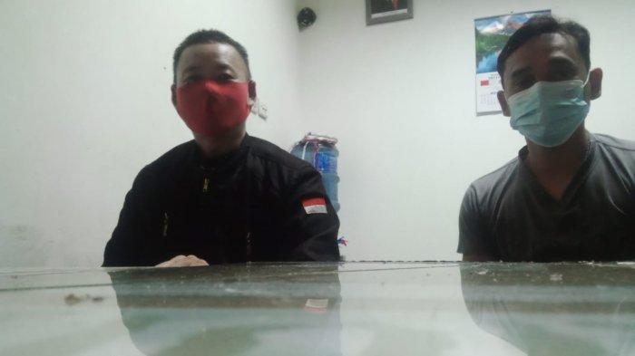 Personel Polsek Mukok Sambangi Ketua POM Kecamatan Mukok, Ini Yang Dibahas