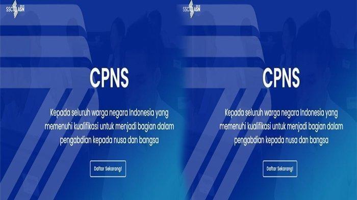 PORTAL CPNS 2021 http//sscn.bkn.go.id Login Daftar CPNS, Cek Cara Melihat Jumlah Pesaing CPNS 2021