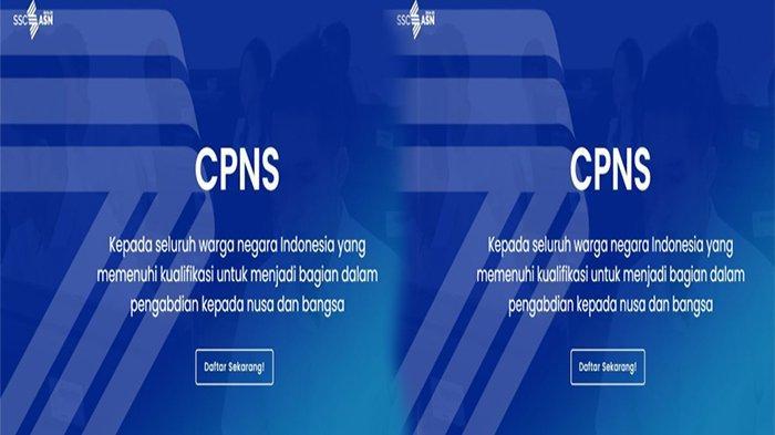 PORTAL CPNS 2021, sscans.bkn.go.id 2021 Link Daftar Formasi CPNS 2021 & Info Terbaru