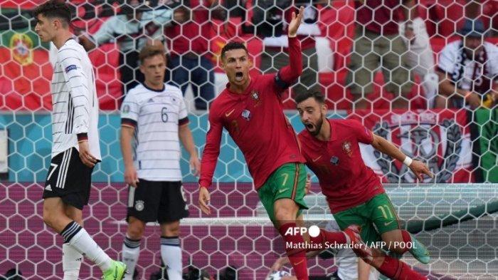 UPDATE Top Score Piala Eropa & Top Skor Euro Terbaru Hari Ini Ronaldo Cetak 2 Gol ke Gawang Prancis