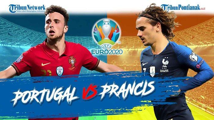 Jam Berapa Main Portugal Vs Prancis dan LIVE Jerman Vs Hungaria! Akhir Cerita Grup F Piala Eropa