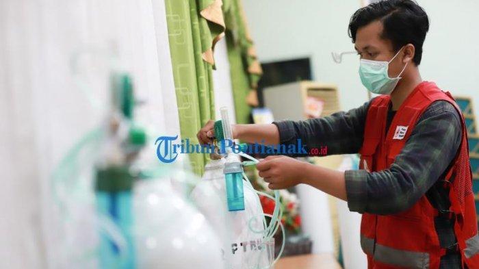 Kebutuhan Oksigen di RSUD Soedarso Dalam Sehari Mencapai 300 Tabung