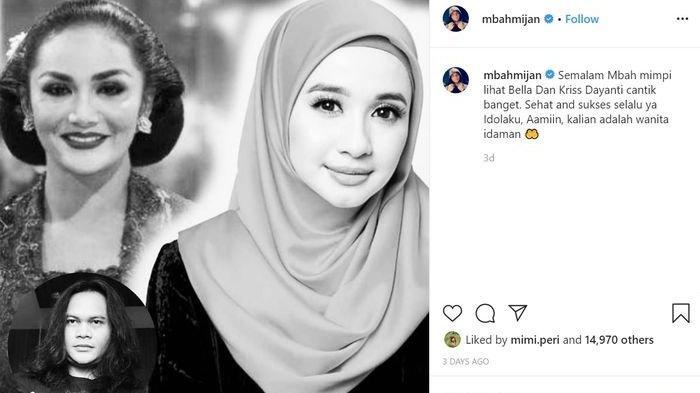 Postingan Mbah Mijan Soal Krisdayanti & Laudya Cynthia Bella Jadi Sorotan