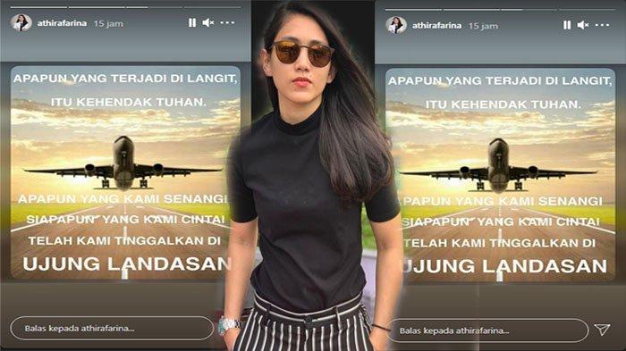 VIRAL Pesan Menggugah Hati Pilot Athira Farina Saat Tragedi Sriwijaya Air SJ182 Jakarta-Pontianak