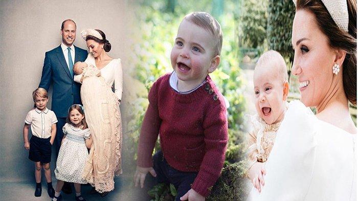 Potret Menggemaskan Pangeran Louis di Momen Ulang Tahun Pertamanya, Kerajaan Inggris Rilis Fotonya!