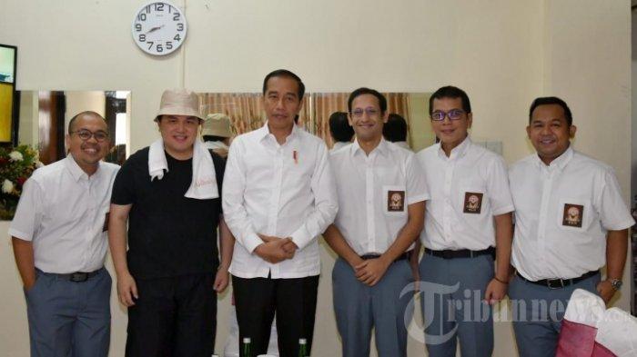 Potret Tak Biasa 3 Menteri Jokowi, Nadiem & Wishnutama Jadi Anak SMA, Erick Tohir Jadi Tukang Bakso