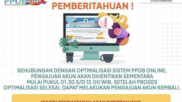 Pendaftaran PPDB DKI Jakarta Diperpanjang, Anies Baswedan Ungkap Penyebab Error