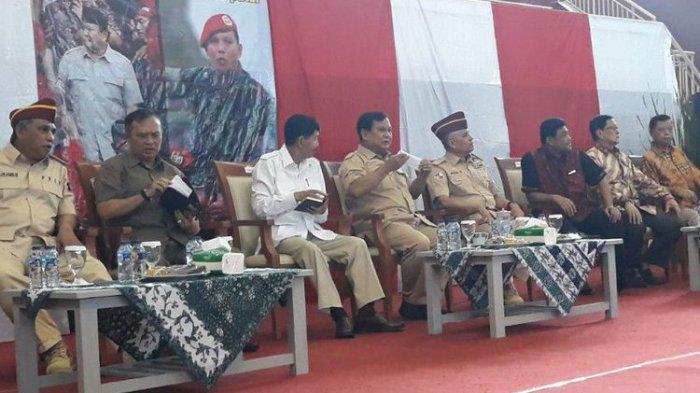 Prabowo Hadiri Reuni dan Halal Bihalal Kopassus