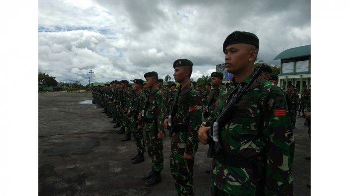 KKB Serang Prajurit TNI saat Patroli di Nduga Papua Hari Ini, Kotak Senjata 30 Menit 3 Tertembak