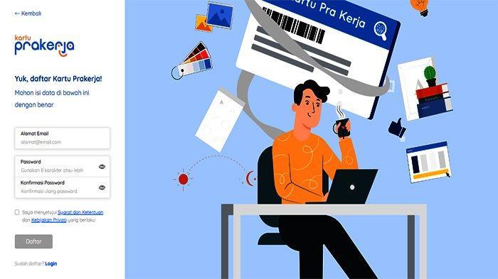 Prakerja go id - Cara Daftar Kartu Pra Kerja Online di