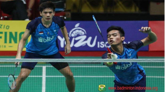 HASIL Swiss Open 2021 Badminton - Terbaru Indonesia Tambah Wakil di Ganda Putra Lolos Babak 16 Besar