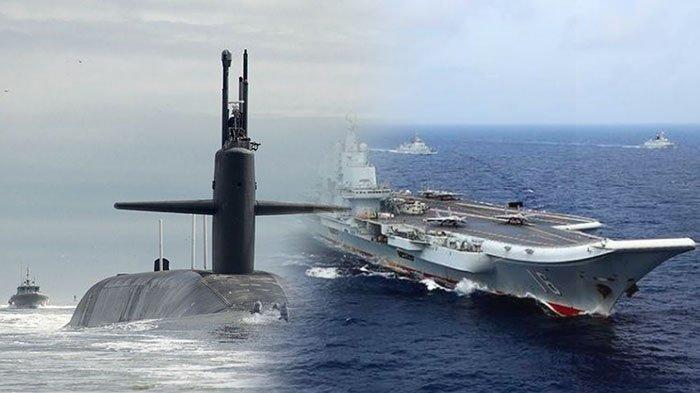 PRANCIS Ikut-ikutan 'Panaskan' Laut China Selatan, Kirim Kapal Selam Nuklir Lewati Selat Sunda