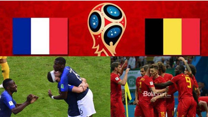 Prediksi Skor Akhir Prancis Vs Belgia di Semi Final Piala Dunia 2018