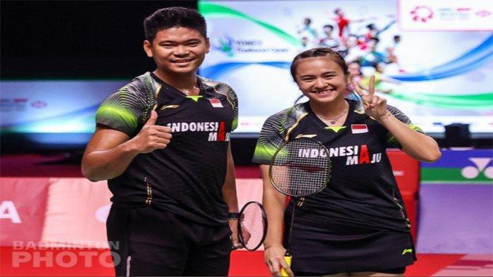 Jadwal Badminton Ganda Campuran Praveen Jordan/Melati Daeva Oktavianti Babak Penyisihan Grup C
