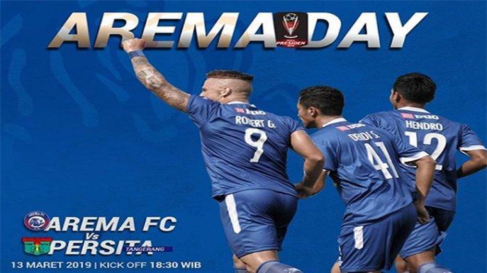 FULL Time Arema Vs Persebaya, Lihat Cuplikan 2 Gol Hantarkan Singo Edan Juara Piala Presiden 2019