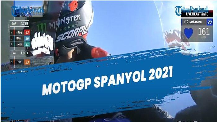 HASIL MotoGP Jerez Spanyol Hari Ini Update di Link MotoGP 2021, Quartararo Hattrick Podium Juara ?