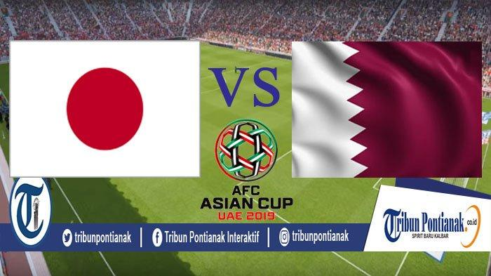 Link LIVE STREAMING Jepang Vs Qatar, Finals AFC Asian Cup LIVE Free FOX Sports Asia Jam 21.00 WIB