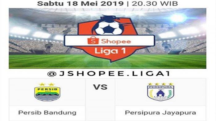 LIVE Stream Babak Dua Persib Vs Persipura Liga 1 Indonesia! 2 Gol Artur Gevorkyan Bawa Persib Unggul