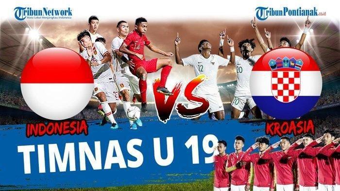 PREDIKSI Line Up Timnas Indonesia U-19 Vs Kroasia Selasa 8 September 2020 Live Pukul 20.00 WIB