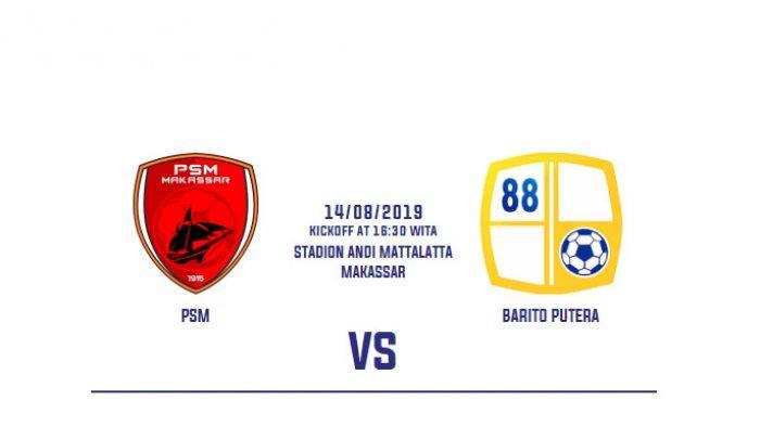 Prediksi PSM Makassar Vs Barito Putera Shoppe Liga 1, Guy Junior & Zulham Zamrun Absen Bela Juku Eja