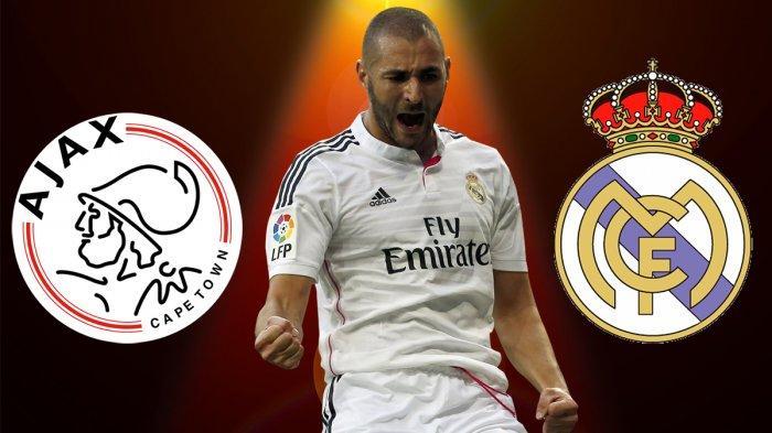 PREDIKSI SKOR Ajax Vs Real Madrid: Link LIVE STREAMING RCTI, Head to Head & Prediksi Line Up