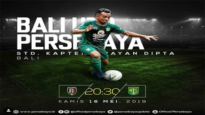 Prediksi Skor Bali United Vs Persebaya Shopee Liga 1 2019 Live Indosiar Pukul 20.30 WIB