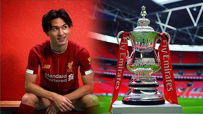 LINE Up Pemain dan Live Streaming Liverpool vs Everton Piala FA - Klopp Pasang Debut Minamino