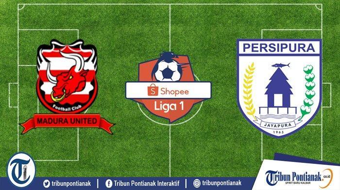 LIVE STREAMING Madura United Vs Persipura Liga 1   Potensi Geser Borneo FC di Tiga Besar Klasemen