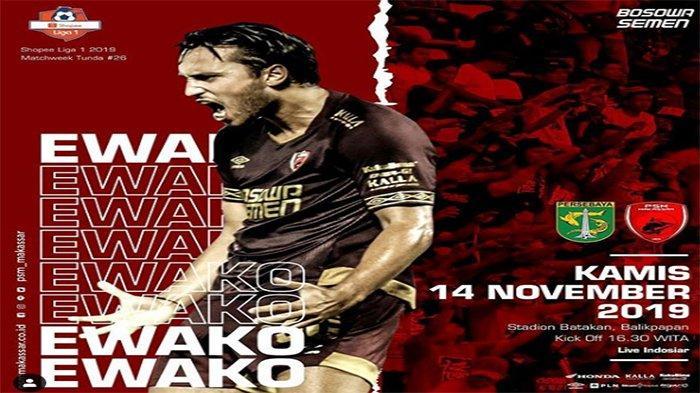 Prediksi Skor Persebaya Vs PSM Makassar Shoppe Liga 1, Bajul Ijo Tanpa Hansamu Yama & Otavio Dutra