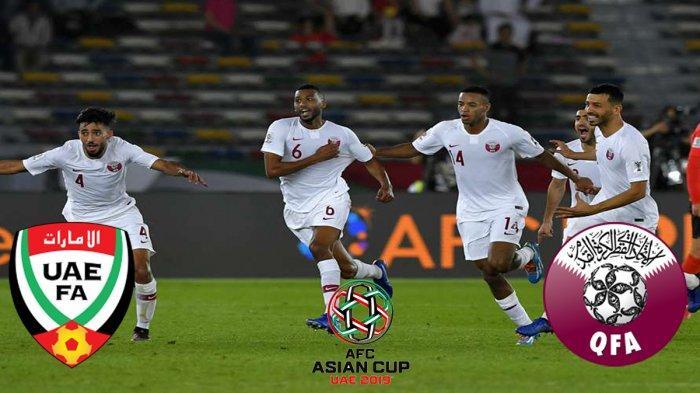 Prediksi UEA Vs Qatar Semifinal Asian Cup 2019 & Link Live Streaming Qatar Vs UEA Piala Asia 2019