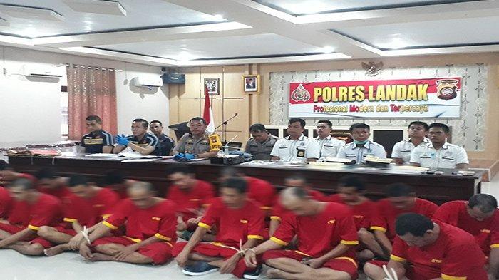 Januari Hingga Maret, Polres Landak Ungkap 28 Kasus Kejahatan, Berikut Rincianya