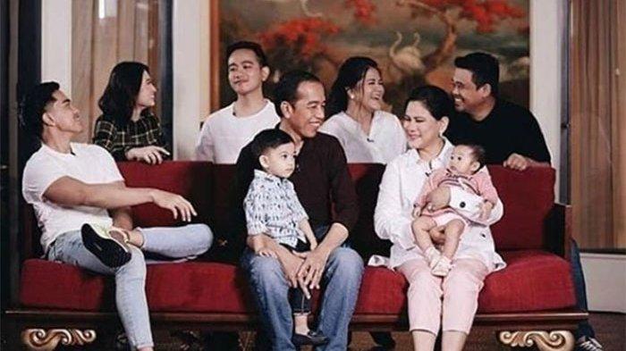 PRESIDEN Jokowi Kini Miliki 3 Cucu Anak Gibran & Kahiyang, Ini Potret Cantik Cucu Perempuan Jokowi