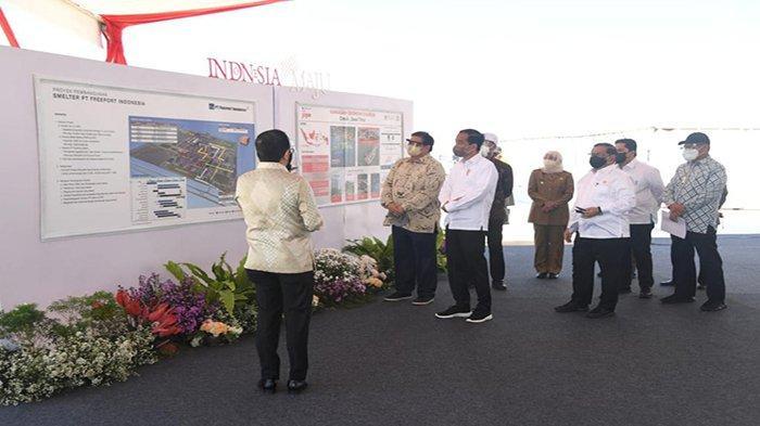 Bangun Smelter PT Freeport, Presiden Jokowi : Kita Ingin Nilai Tambah Itu Ada Disini