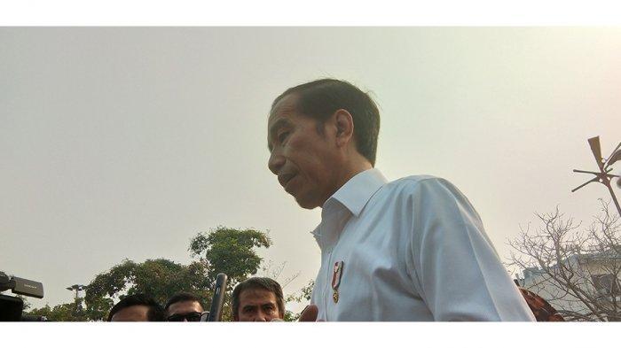 VIRAL Foto Sepatu Presiden Joko Widodo [Jokowi], Panglima TNI dan Sejumlah Menteri Kabinet Kerja